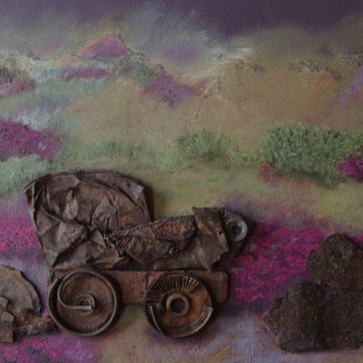 Old Nelly - Rust with oil Painting 400cm x 500cm R2000