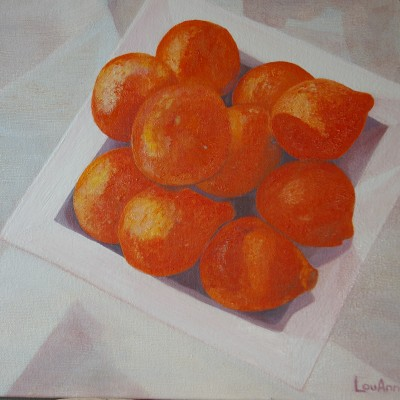 Luscious Oranges - SOLD
