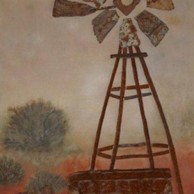 Karoo Windmill - Sold