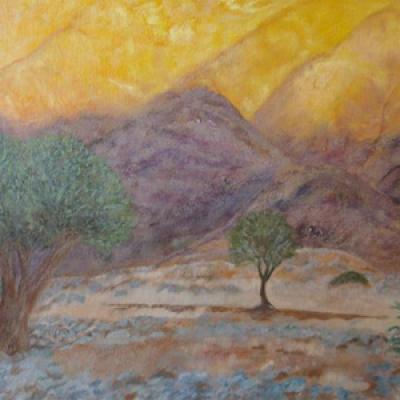 Sunset Glow - Orange River R2500
