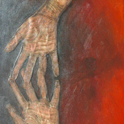 Surrender - Mixed Media on Canvas, 300 cm x 500 cm R2500