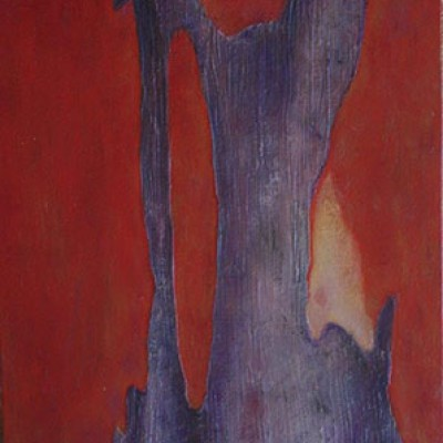 Swamp Melee - Eucalyptus - (Oil on canvas) A series from a Book of Photographs called Bark By Cedric Pollet - Size 20 X 30 R995
