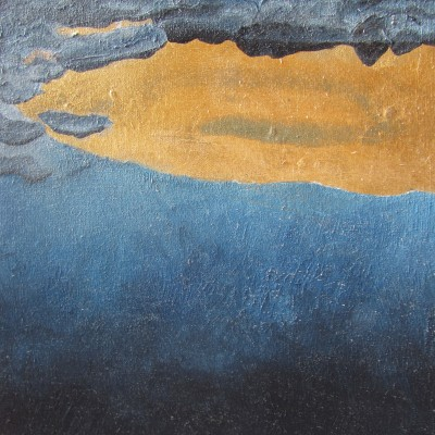 Fish River Reflections - Original Oil and Mixed Media - Size 200 x 300 R950